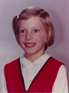 A.B. Westrick in 3rd grade