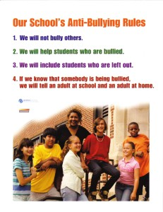 Anti-Bullying poster