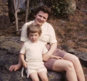 Mom+me circa 1960