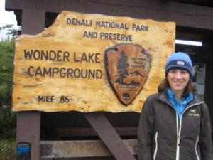 Hannah Moderow at Denali National Park