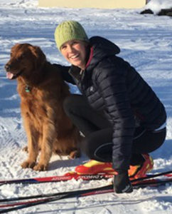 Lindsey Stoddard + dog