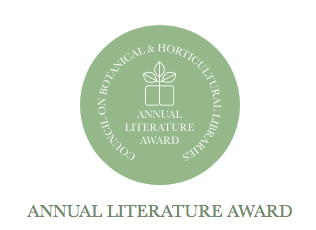 Council on Botanical and Horticultural Libraries Annual Literature Award