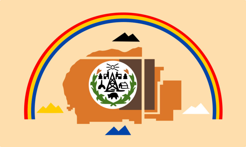 Flag of the Navajo Nation